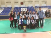 SALON FUTBOLU - ÇOMÜ Kadın Futsal Takımı Namağlup Şampiyon