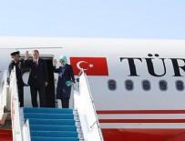 ESENBOĞA HAVALIMANı - Cumhurbaşkanı Erdoğan Rusya'ya gitti