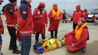 Denizde Nefes Kesen Yaralı Kurtarma Tatbikatı