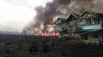 Dörtyol'da Sazlık Alanda Yangın