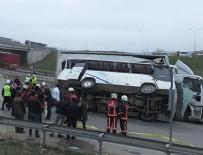 İSTANBUL PARK - İstanbul'da feci kaza: 4'ü ağır 27 yaralı