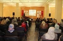 PSİKOLOJİK DESTEK - Kadın Danışma Merkezi, Avanos'ta Seminer Verdi