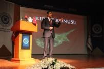 MUSTAFA AYDıN - KKTC Başbakanı İAÜ'de Öğrencilerle Buluştu