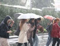 YILDIRIM DÜŞMESİ - Meteorolojiden 5 il için kuvvetli yağış uyarısı