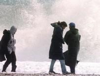 KUZEY EGE - Meteoroloji'den fırtına uyarısı