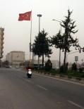 Suriye Üzerinden Gelen Kum Ve Toz Fırtınası Kilis'te Etkili Oldu