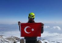 ERCIYES - Tek Başına Süphan Dağına Tırmandı