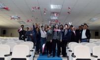 EĞİTİM UÇAĞI - Türkiye Ve Avrupa'nın İlk Gyrocopter Kadın Pilotu NEÜ'de