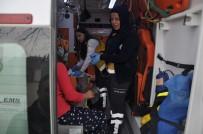 YAHYA KEMAL BEYATLI - Üzerine Kapı Devrilen Öğrenci Yaralandı