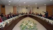 Vali Aktaş Bims Ve Ponza Üreticileri İle Toplantı Yaptı