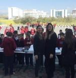 KADIN SIĞINMA - Yakın Doğu Koleji'nden, Lefkoşa Kadın Sığınma Evi'ne Katkı