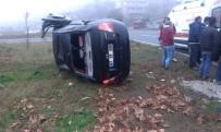 ÖLÜMLÜ - Yoldan Çıkan Otomobil Takla Attı Açıklaması 1 Yaralı