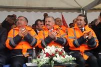 Bakan Arslan Ve Yılmaz, Ilgar Dağı Tüneli'nin Temelini Attı