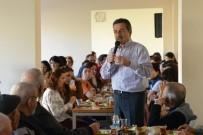 ALZHEIMER - Başkan Ataç, Deneyimli Vatandaşları Ziyaret Etti