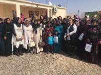 CEYLANPINAR - Başkan Eşleri Sahada Referandum Çalışmalarını Sürdürüyor