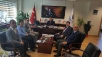 İLLER BANKASı - Başkan Yalçın'ın Eskişehir Temasları