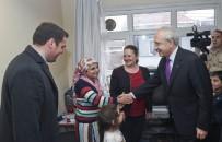 MURAT HAZINEDAR - CHP Lideri Kılıçdaroğlu, Kendisine Mektup Yazan Küçük Çocuğu Ziyaret Etti