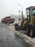 KALDIRIMLAR - Güroymak'ta Kar Ve Çevre Temizliği