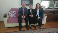 MURAT DURU - Kaymakam Murat Duru Şehit Ailelerini Ziyaret Etti