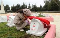 SEYİT ONBAŞI - Suriyeli Yetimlerden, 102 Yıl Sonra Şehit Dedelerine Ziyaret