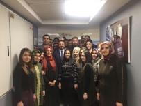 ÇAĞRI MERKEZİ - TBMM Başkan Vekili Aydın'dan Çağrı Merkezine Ziyaret