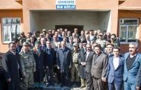 İBRAHIM TAŞYAPAN - Vali Ve Büyükşehir Belediye Başkan Vekili Taşyapan'ın, Çatak Ziyareti