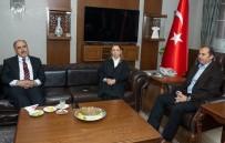 İBRAHIM TAŞYAPAN - AK Parti Genel Başkan Yardımcısı Çalık'tan Vali Yaşyapan'a Ziyaret