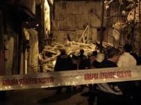Ankara'da 2 Katlı Metruk Bina Çöktü