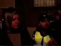 Bakan Kaya, Hollanda polisiyle tartıştı