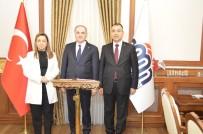 ÖZNUR ÇALIK - Bakan Özlü Malatya Valiliğini Ziyaret Etti