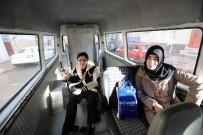 CUMHURIYET ÜNIVERSITESI - Bedensel Engelli Öğrenciyi YGS'ye Belediye Taşıdı