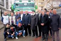 YÜCEL BARAKAZİ - Bingöl'den Suriye'ye 12'İnci Yardım Tırı Yola Çıktı