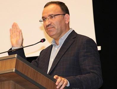 Adalet Bakanı Bozdağ: Nazist uygulamayı yapanlar yakında konuşamayacak