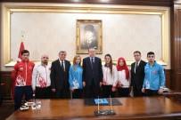 KAĞıTSPOR - Cumhurbaşkanı Erdoğan Şampiyon Sporcuları Ödüllendirdi