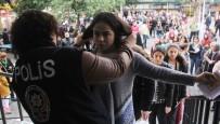 KADIN POLİS - Genç Kızların YGS Kuyruğu