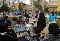ÇAM SAKıZı - Haliliye Belediyesi Velilileri Unutmadı