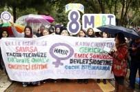 KADIN PLATFORMU - Kadınların Yürüyüşüne İzin Verilmedi