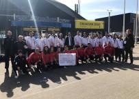 FEDERASYON BAŞKANI - Tekvandoculardan Hollanda'ya Tepki