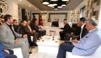 MEHMET METİNER - AK Parti İstanbul Milletvekili Metiner'den  Başkan Kutlu'ya Ziyaret