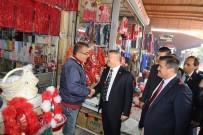PAZARCI ESNAFI - AK Parti Milletvekillerinin Referandum Çalışmaları Devam Ediyor