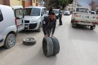 ALI ÖZKAN - Amasya'da Bir Gecede 35 Aracın Lastiklerini Kestiler