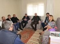 Balıkesir'de Milletvekili Şehit Ailesini Ziyaret Etti