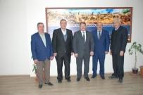 ESNAF ODASı BAŞKANı - Başkan Konak'dan, SGK İl Müdürü Fidan'a Ziyaret