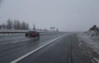 Bolu'da Kar Yağışı Başladı