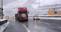 YAKIN TAKİP - Gerede'de kar ulaşımı yavaşlattı
