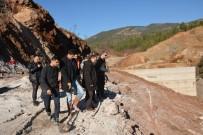 YENIKÖY - Coşkun, Alanya Yeniköy Baraj İnşaatını İnceledi