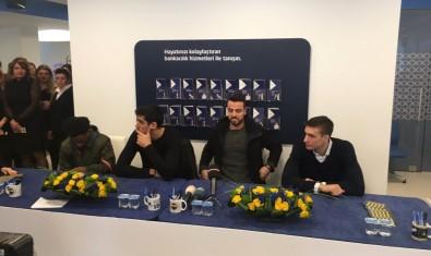 Fenerbahçe'nin yıldızları imza verdi