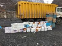 Hakkari'de 17 Bin 960 Paket Kaçak Sigara Ele Geçirildi