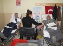 ALI ÖZDEMIR - Hisarcık Şehitler Ortaokulunda Kan Bağışı Kampanyası
