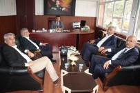 MALİ MÜŞAVİR - İl Özel İdaresi Genel Sekreteri Işık'a 'Hayırlı Olsun' Ziyareti
